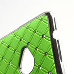 Drahokamové puzdro pre HTC one M7- zelené - 7/7