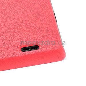 Texturované puzdro pre LG Optimus L7 P700- ružové - 7