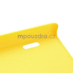 Texturované puzdro pre LG Optimus L7 P700- žlté - 7