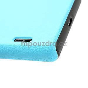 Texturované puzdro pre LG Optimus L7 P700- modré - 7