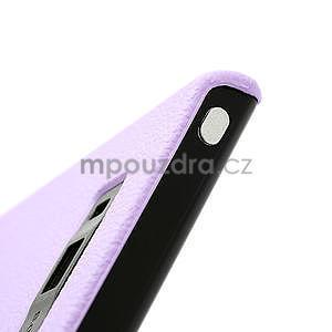 Texturované puzdro pre LG Optimus L7 P700- fialové - 7