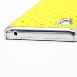 Drahokamové puzdro pre LG Optimus L9 P760- žlté - 7/7