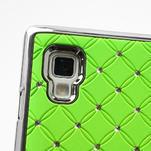 Drahokamové puzdro pre LG Optimus L9 P760- zelené - 7/7