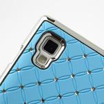 Drahokamové puzdro pre LG Optimus L9 P760- svetlo modré - 7/7