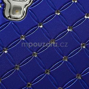 Drahokamové puzdro pre LG Optimus L9 P760- modré - 7