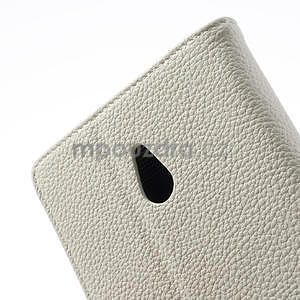 Peňaženkové puzdro pre Nokia Lumia 1320- biele - 7