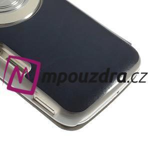 Flipové puzdro na Samsung Galaxy K zoom C115 - modré - 7