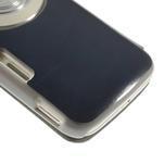Flipové puzdro na Samsung Galaxy K zoom C115 - modré - 7/7