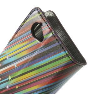 Peňaženkové puzdro na Sony Xperia L C2105 - meteor - 7