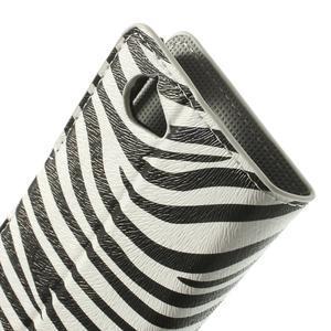 Peňaženkové puzdro na Sony Xperia L C2105 - zebrovité - 7