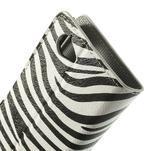 Peňaženkové puzdro na Sony Xperia L C2105 - zebrovité - 7/7