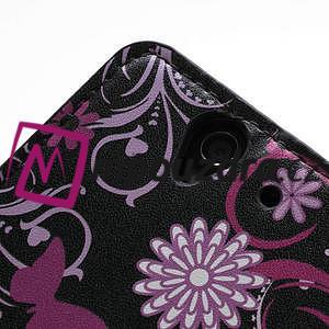 Peňaženkové puzdro pre Sony Xperia Z C6603 - motýľe - 7