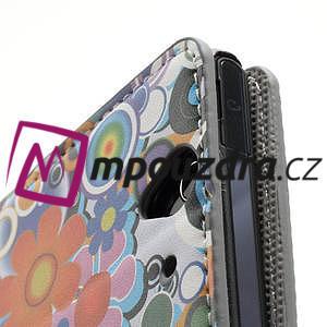 Peňaženkové puzdro pre Sony Xperia Z C6603 - farebné vzory - 7