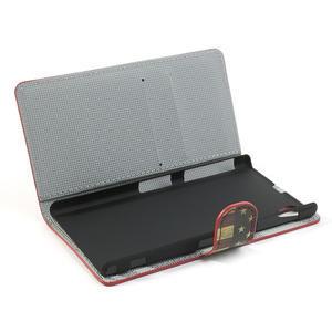 Peňaženkové puzdro pre Sony Xperia Z1 C6903 L39- USA vlajka - 7