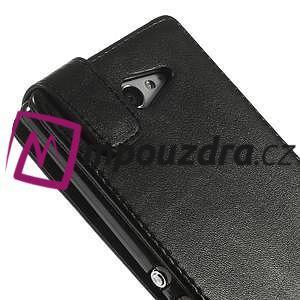 Flipové puzdro na Sony Xperia M2 D2302 - čierné - 7