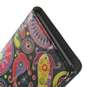 Peňaženkové puzdro na Sony Xperia M2 D2302- vzorové - 7