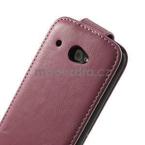 Flipové puzdro pre HTC Desire 601- růžové - 7