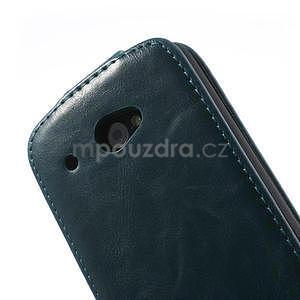 Flipové puzdro pre HTC Desire 601- modré - 7