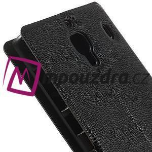 Peňaženkové  puzdro na Xiaomi Hongmi Red Rice- čierné - 7