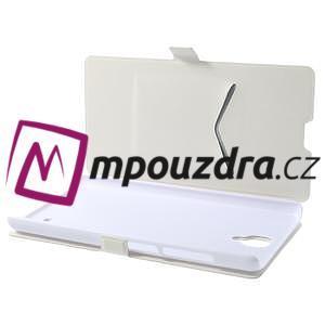 Peňaženkové puzdro na Xiaomi Hongmi Note- biele - 7