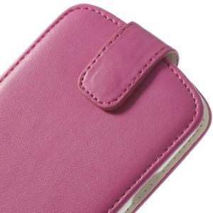 Flipové pozdro pre Samsung Galaxy S3 i9300 - ružová - 7