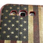Peňaženkové puzdro pre Samsung Galaxy S3 i9300- USA vlajka - 7/7