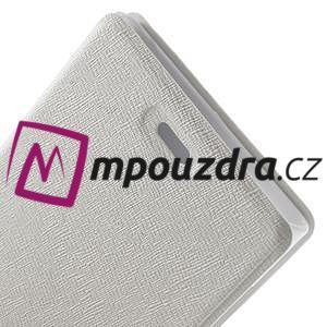 Peňaženkové puzdro na Xiaomi Mi3- biele - 7