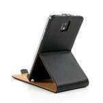 Flipové kožené puzdro na Samsung Galaxy Note 3- čierné - 7/7