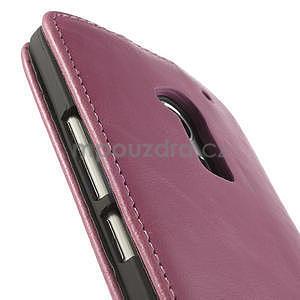 Flipové puzdro HTC one Max- růžové - 7