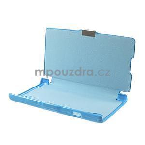 Flipové puzdro pre LG Optimus L9 P760- modré - 7