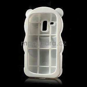 3D Silikonové puzdro pre Samsung Galaxy S3 mini / i8190 - vzor žltá panda - 7