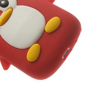 Silikonový TUČŃÁK puzdro na Samsung Galaxy S3 mini i8190- červený - 7