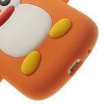 Silikonový TUČŃÁK puzdro na Samsung Galaxy S3 mini i8190- oranžový - 7/7