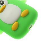 Silikonový TUČŃÁK puzdro na Samsung Galaxy S3 mini i8190- zelený - 7/7