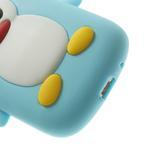 Silikonový TUČŃÁK puzdro na Samsung Galaxy S3 mini i8190- světlemodrý - 7/7