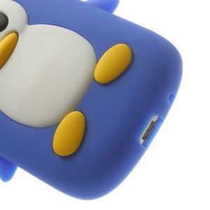 Silikonový tučniak puzdro pre Samsung Galaxy S3 mini i8190- modrý - 7