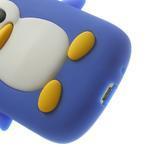 Silikonový tučniak puzdro pre Samsung Galaxy S3 mini i8190- modrý - 7/7