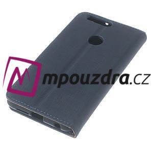 Clothy Peňaženkové puzdro pre mobil Honor 8 - tmavomodré - 7