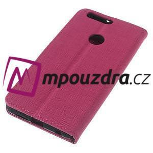 Clothy peněženkové puzdro na mobil Honor 8 - rose - 7