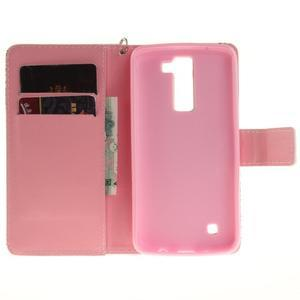 Style PU kožené puzdro pre LG K8 - mandala I - 7