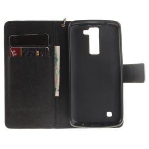 Style PU kožené puzdro pre LG K8 - nesiaha - 7