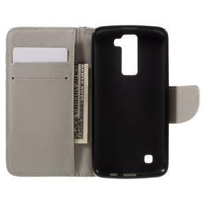 Emotive PU kožené puzdro pre LG K8 - nedotýkať sa - 7