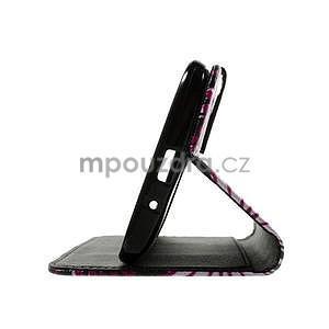 Zapínacie peňaženkové puzdro pre Asus Zenfone 2 ZE551ML - motýľik - 7