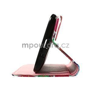 Zapínacie peňaženkové puzdro na Asus Zenfone 2 ZE551ML - sovičky - 7