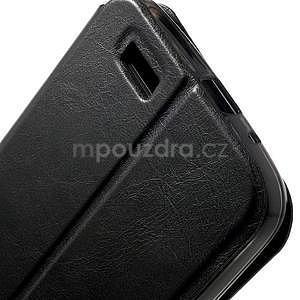Klopové puzdro na Huawei Ascend G7 - čierne - 7