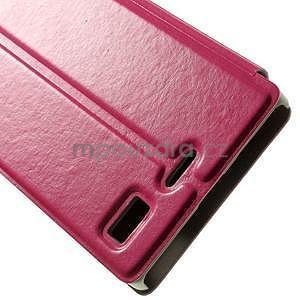 Peňaženkové puzdro Lenovo Vibe X2 - rose - 7