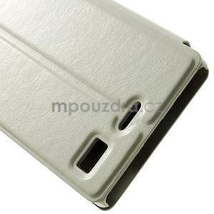 Peňaženkové puzdro Lenovo Vibe X2 - biele - 7