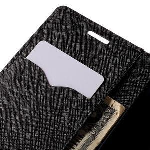 Diary PU kožené puzdro na LG G4c- čierne - 7