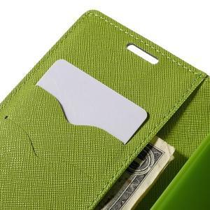 Diary PU kožené puzdro na LG G4c- tmavomodré - 7