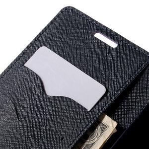 Diary PU kožené puzdro na LG G4c -fialové - 7